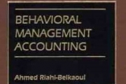 Behavioral Management Accounting